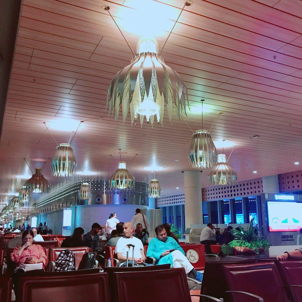ムンバイの空港
