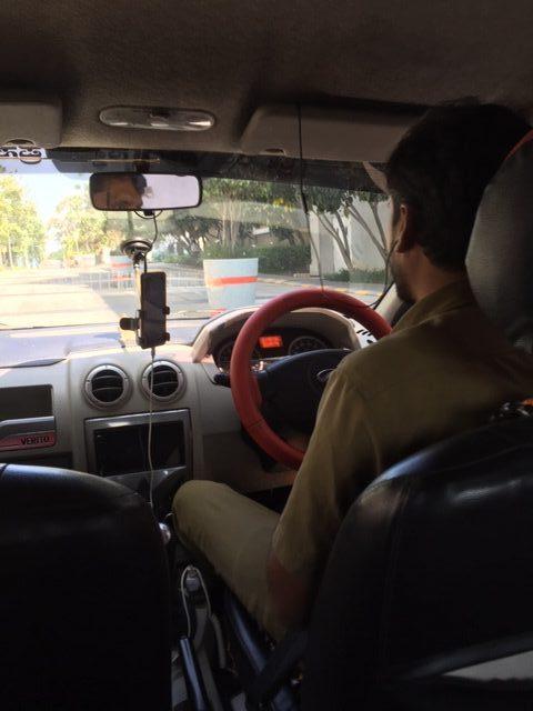Uberの運転手