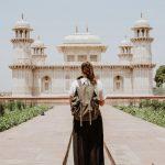 インドと旅人