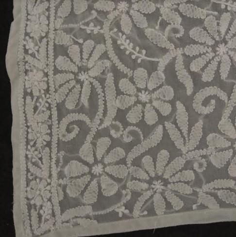 チカン刺繍の布