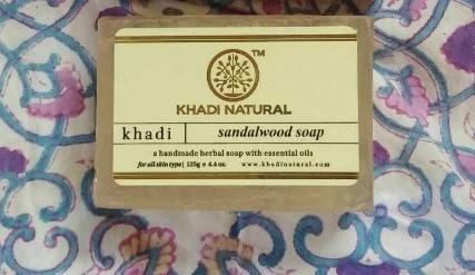 Khadiの石鹸